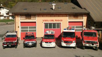 Tutti i mezzi e le attrezzature dei Vigili del Fuoco
